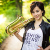 The sax girL