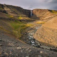 Hengifoss valley