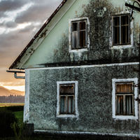 Old house with hope