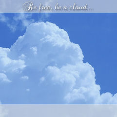 Be free, be a cloud...