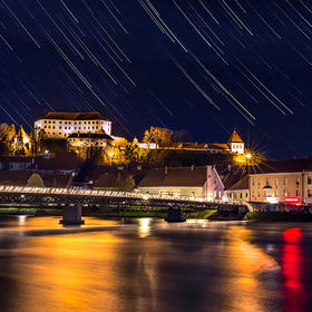 Ptuj at night
