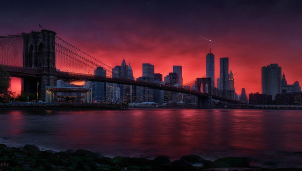 Fotografija tedna �t. 406 - Brooklyn Bridge by Beno Saradzic @Titanium