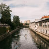Ljubljana in summer