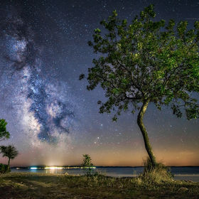 Milkyway over Brioni