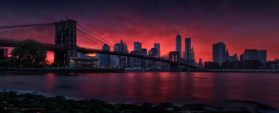 Fotografija tedna št. 406 - Brooklyn Bridge by Beno Saradzic @Titanium