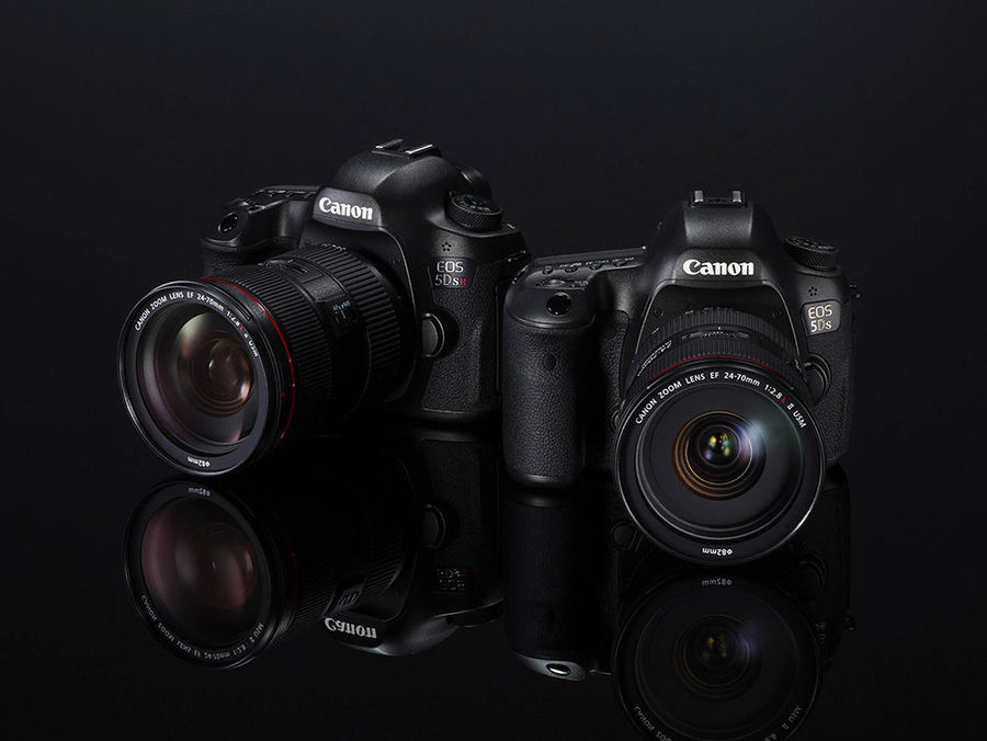 Canon EOS 5DS in EOS 5DS R