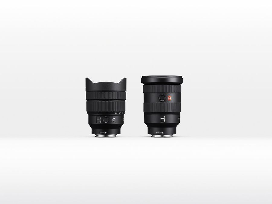 Sony FE 16-35mm F2.8 GM in 12-24mm F4 G